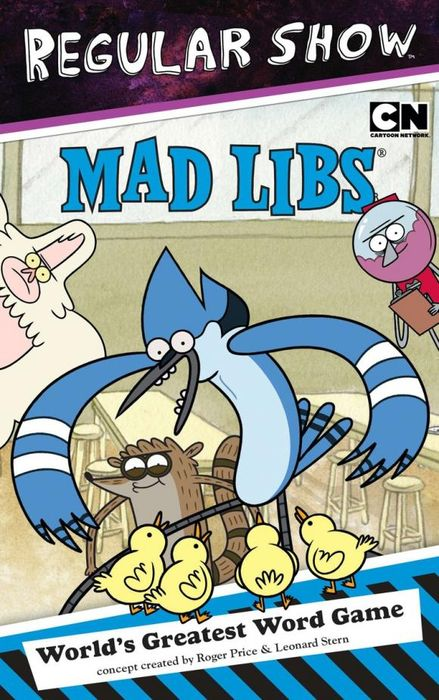 Regular Show Mad Libs the amazing world of gumball mad libs
