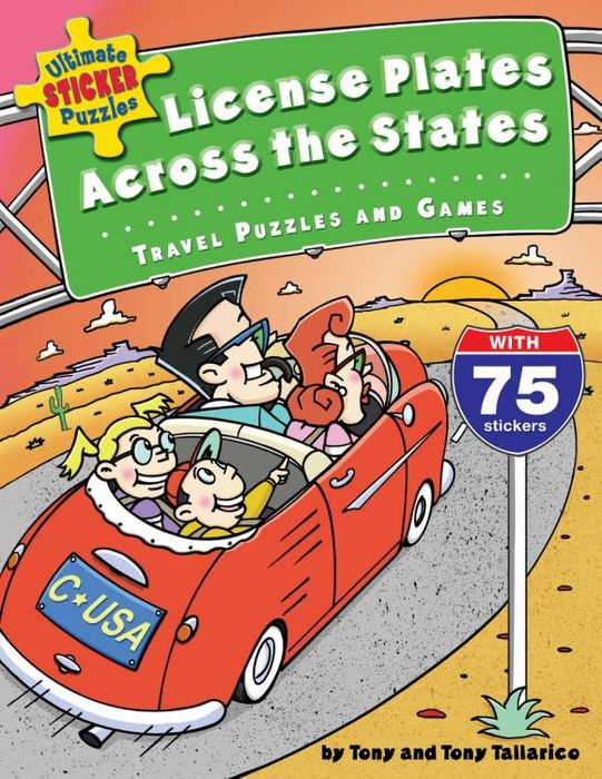 Ultimate Sticker Puzzles: License Plates Across the States:Travel Puzzles and Ga ultimate sticker books dog