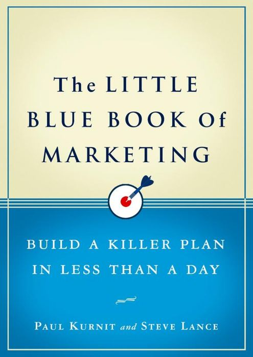 The Little Blue Book of Marketing the little book of batman