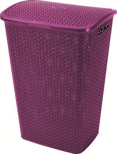 Корзина для белья Curver, цвет: фиолетовый00713-939-00