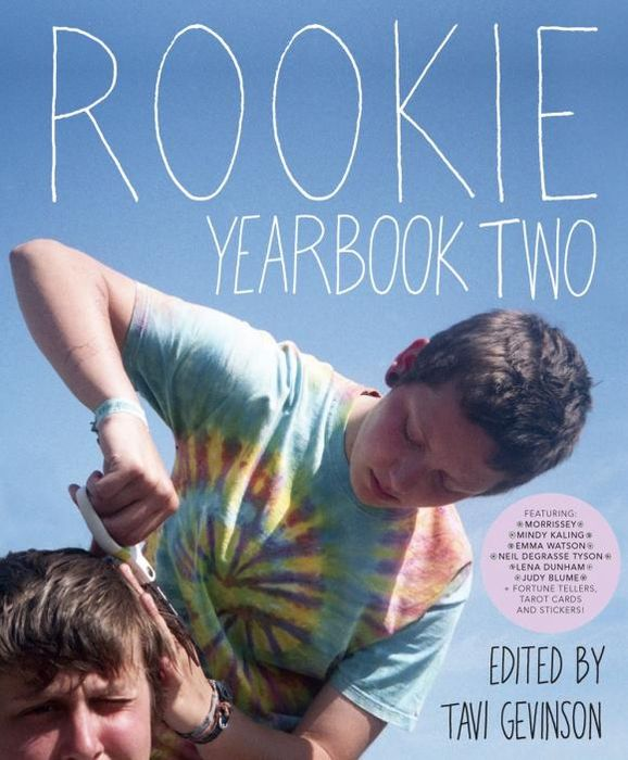 Rookie Yearbook Two two tone drop shoulder tee