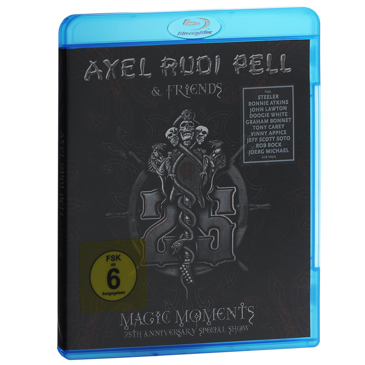 Axel Rudi Pell & Friends. Magic Moments. 25th Anniversary Special Show (Blu-ray)