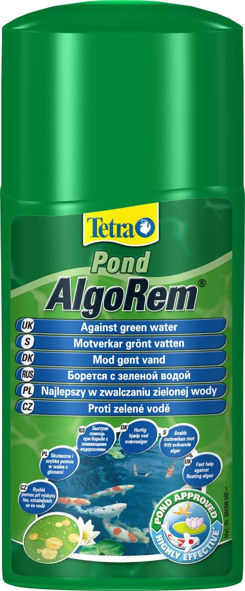 Средство от цветения воды из-за водорослей Tetra  Pond AlgoRem , 250 мл - Средства для ухода и гигиены