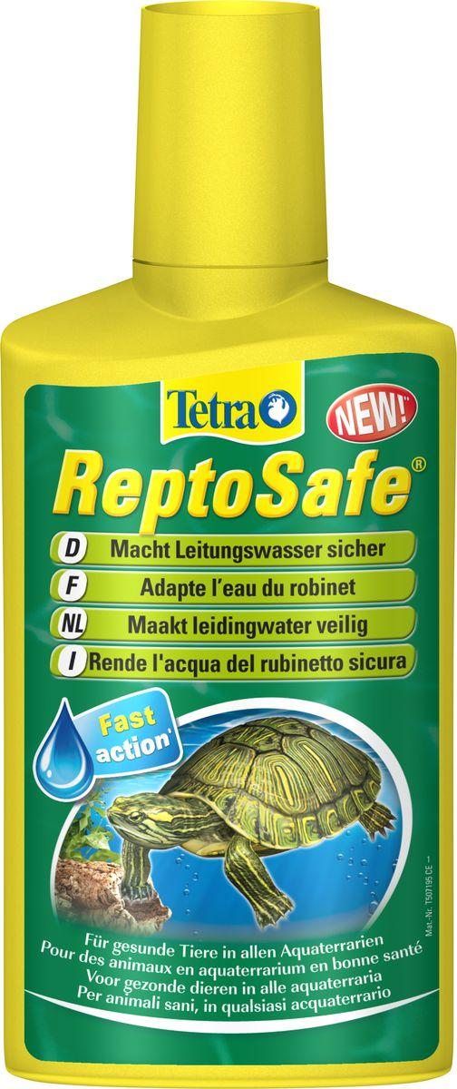 Кондиционер Tetra  ReptoSafe  для подготовки воды для водных черепах, 250 мл - Средства для ухода и гигиены