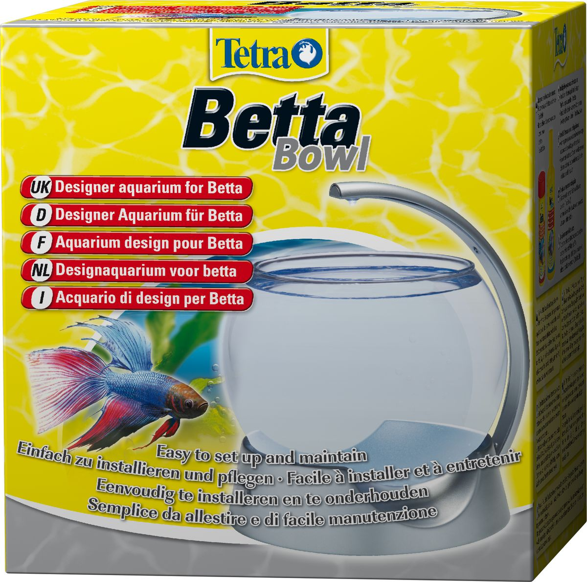 Аквариум-шар для петушков Tetra  Betta Bowl  с освещением, 1,8 л
