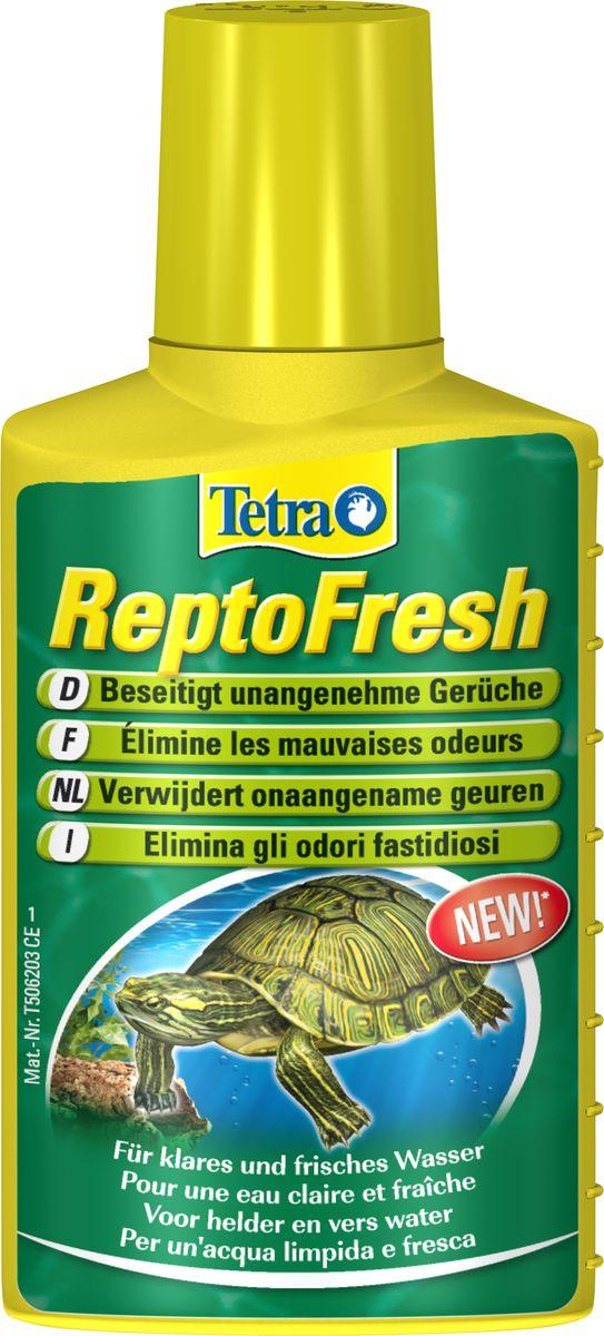 Средство для очистки воды в аквариуме с черепахами Tetra  ReptoFresh , 100 мл - Средства для ухода и гигиены