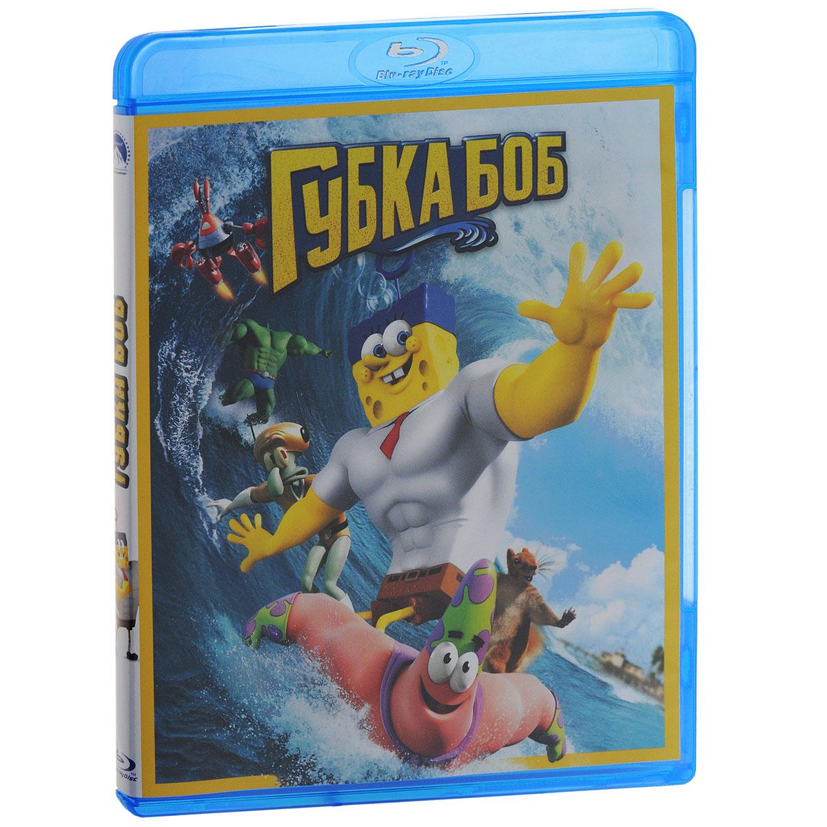 Губка Боб (Blu-ray) губка боб квадратные штаны день мороженого книжка мозаика