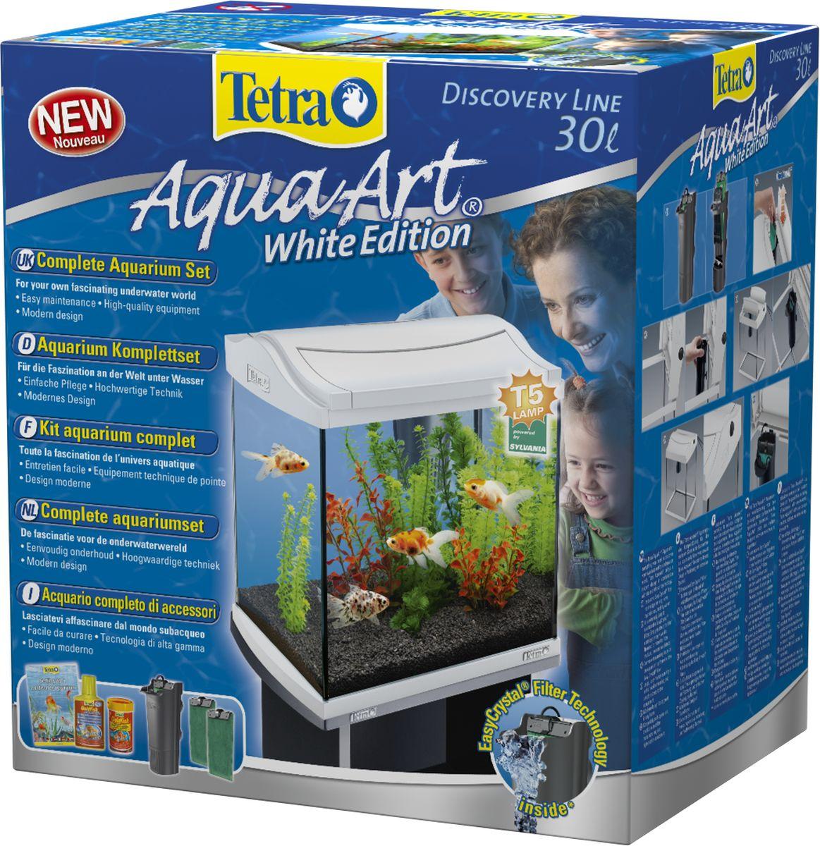 Аквариумный комплекс Tetra AquaArt, цвет: белый, 30 л цена