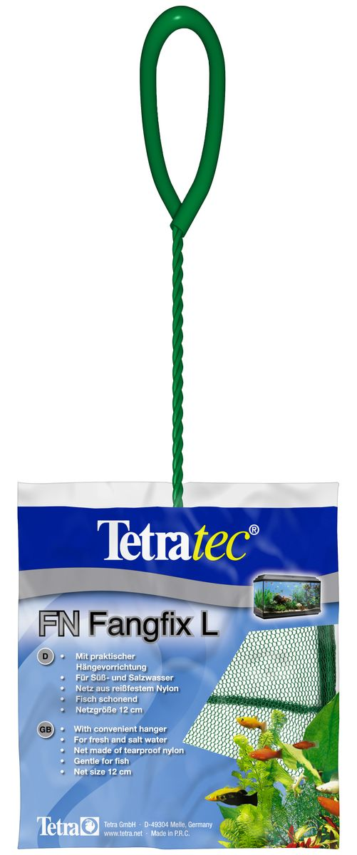 Сачок для аквариума Tetra FN L, 10 х 12 см сачок большой
