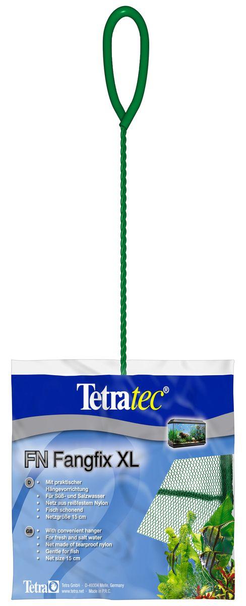 Сачок для аквариума Tetra FN XL, 15 см724471Сачок Tetra предназначен для легкого извлечения рыб из аквариума.Специально покрытые пластиком черпак и ручка не ранят рыб.Сачок устойчив к коррозии, что обеспечивает долгую эксплуатацию.Прочная на разрыв сетка изготовлена из 100% нейлона.Ручка снабжена специальным крючком для подвешивания.Диаметр: 15 см.