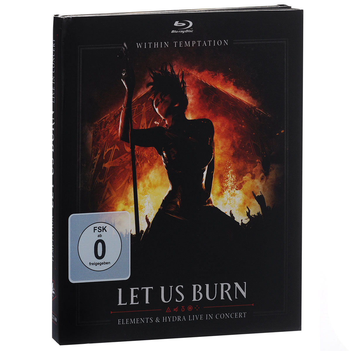 """""""Within Temptation"""" Within Temptation. Let Us Burn. Elements & Hydra Live In Concert (2 CD + Blu-ray)"""