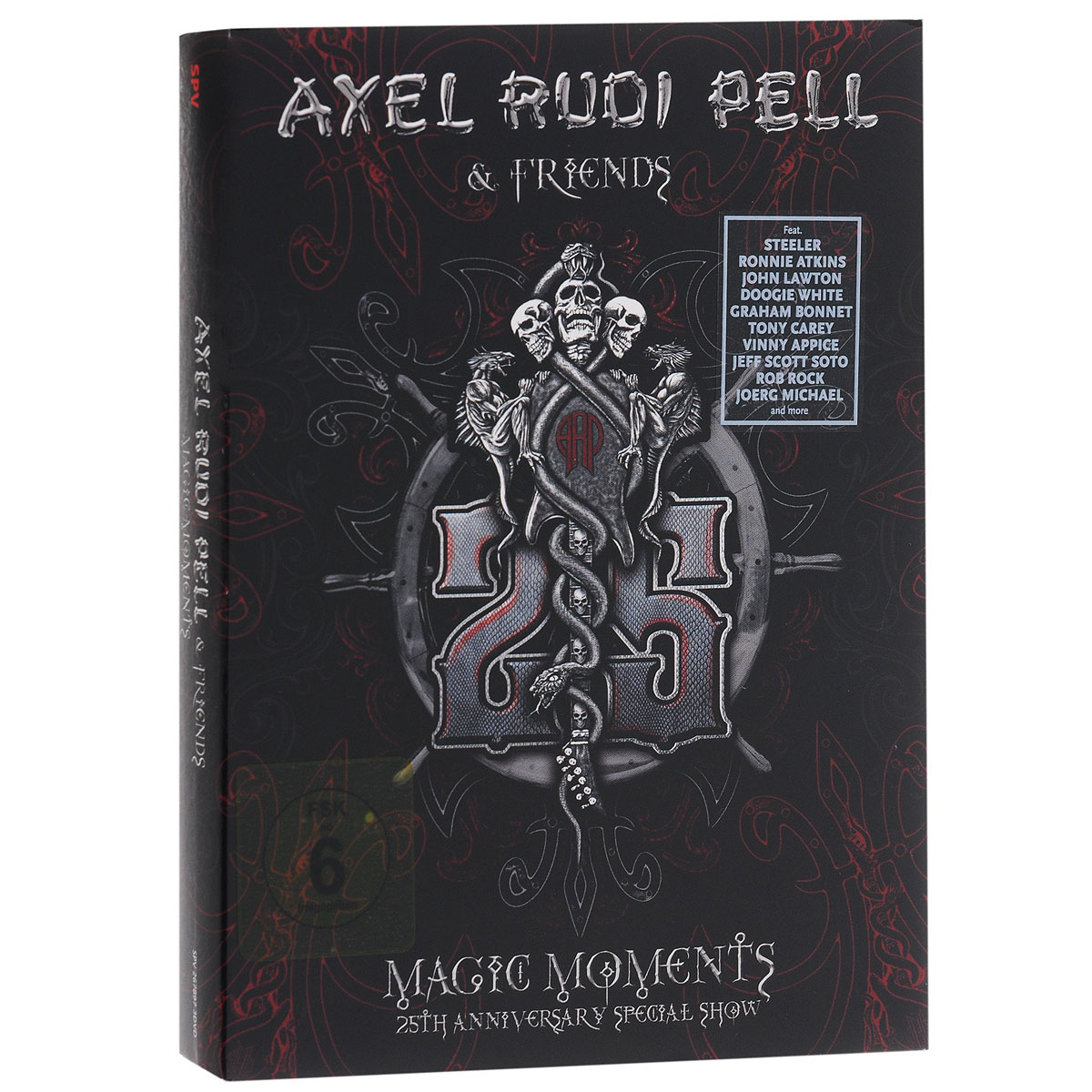 Axel Rudi Pell & Friends: Magic Moments. 25th Anniversary Spesial Sgow (3 DVD) rudi hilmanto local ecological knowledge