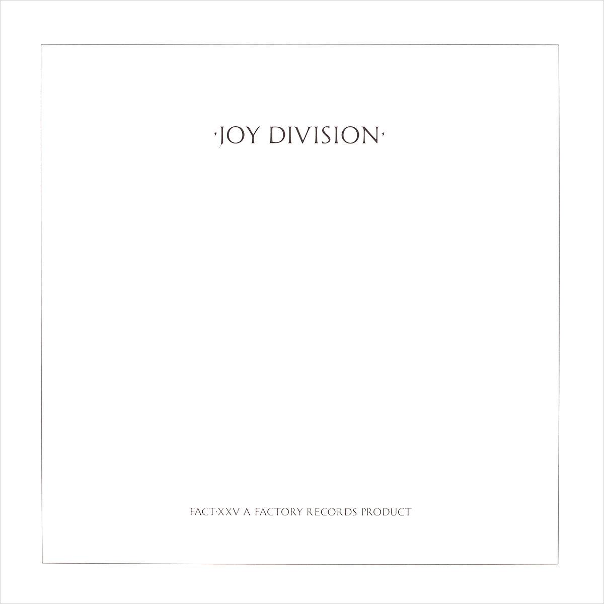 """""""Joy Division"""" Joy Division. Closer (LP)"""