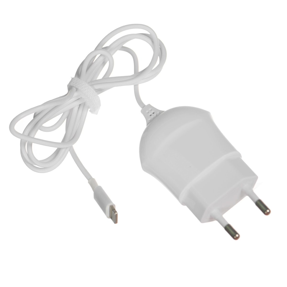 Deppa Wall Charger 1A, White сетевое зарядное устройство с разъемом 8-pin