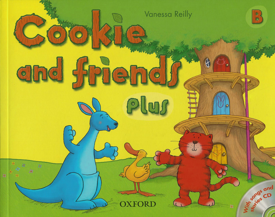Cookie and Friends Plus B (+ CD) пальто alix story alix story mp002xw13vur