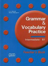 Отложить на потом Grammar Vocabulary Practice Intermediate B1 Teachers Book + CD бра lumion corsaro 3052 1w