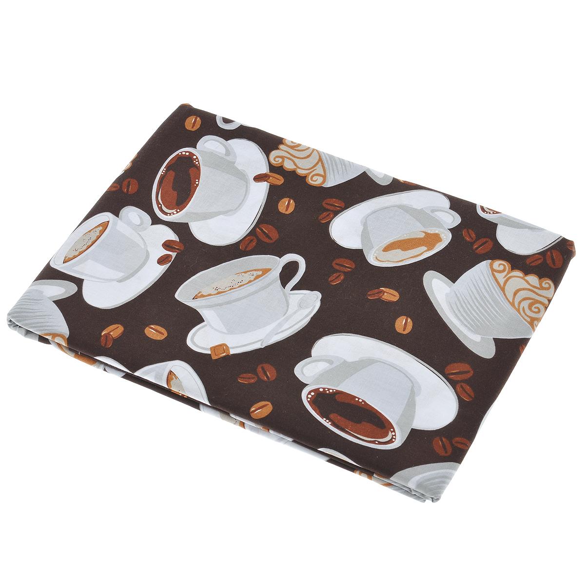 """Скатерть House & Holder """"Чашка кофе"""" изготовлена из хлопка. Использование такой скатерти сделает застолье более торжественным, поднимет настроение гостей и приятно удивит их вашим изысканным вкусом. Также вы можете использовать эту скатерть для повседневной трапезы, превратив каждый прием пищи в волшебный праздник и веселье. Не рекомендуется гладить и стирать в стиральной машине."""