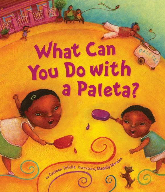 What Can You Do with a Paleta? развивающая игрушка brown bear what do you see jy cd