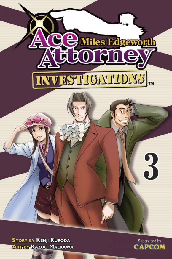 Miles Edgeworth: Ace Attorney Investigations 3 ace 350 купить
