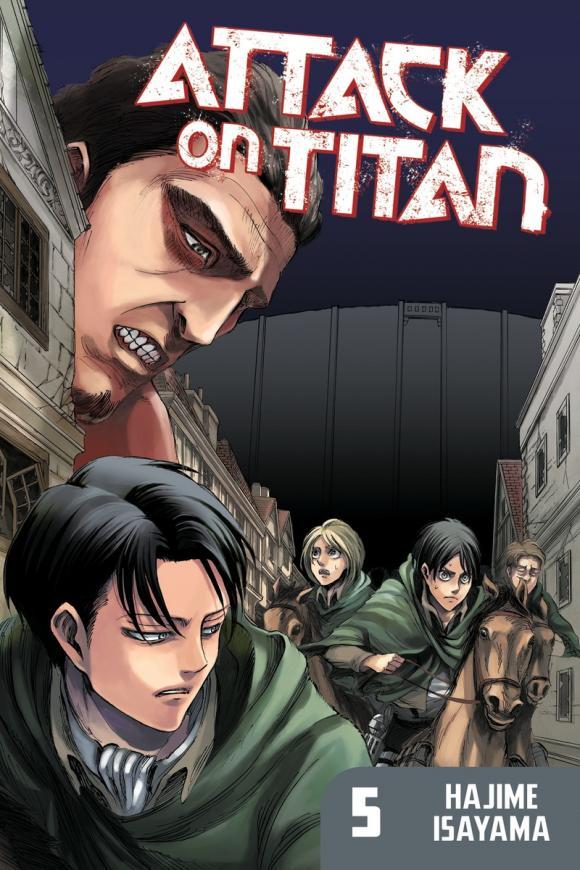 Attack on Titan 5 attack on titan volume 15