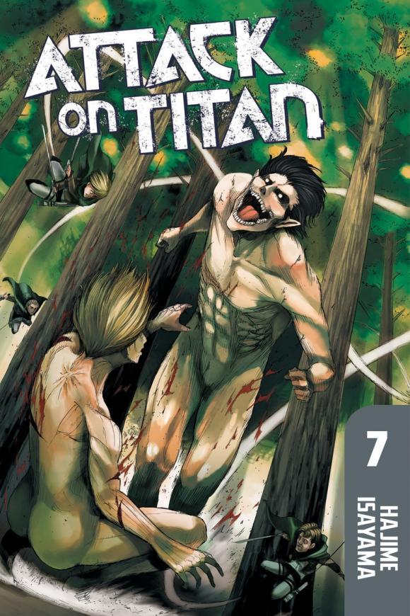 Attack on Titan 7 attack on titan volume 15