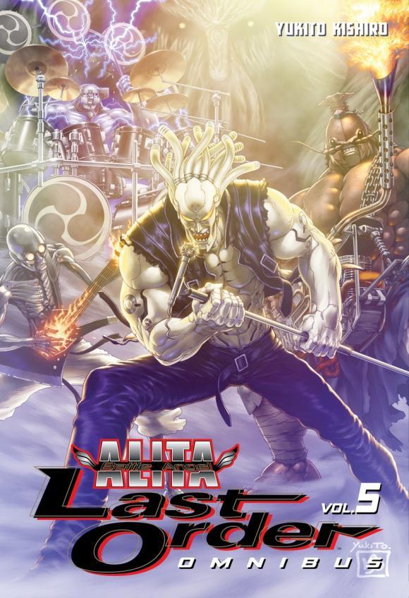 Battle Angel Alita: Last Order Omnibus 5