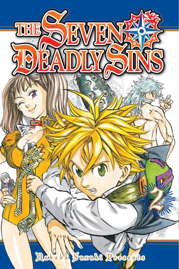 The Seven Deadly Sins 2 nakaba suzuki the seven deadly sins 4