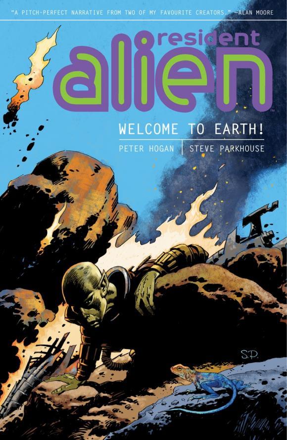 Resident Alien Volume 1: Welcome to Earth! janet wolff resident alien