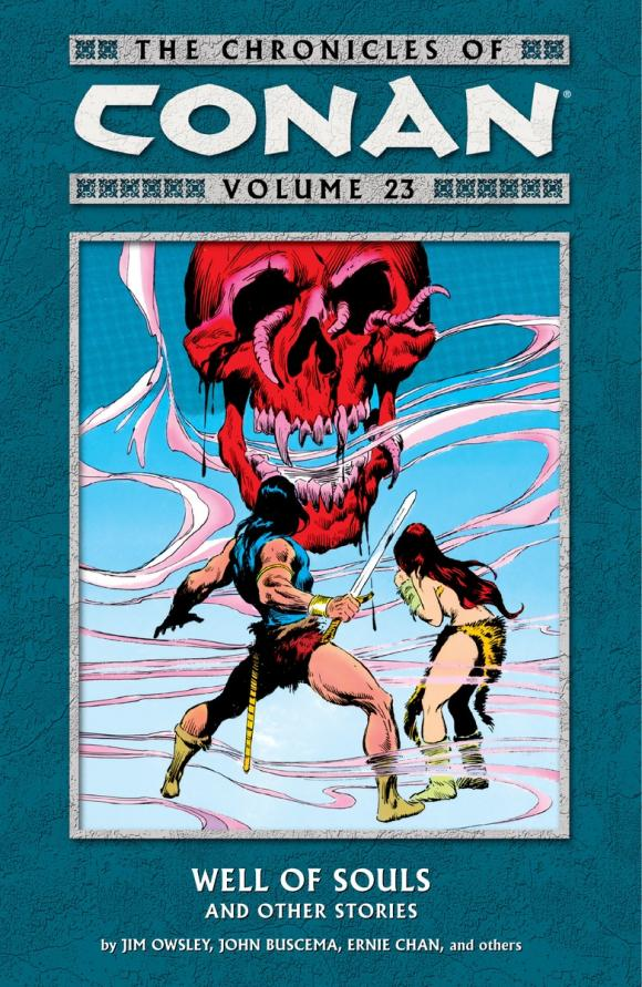 Chronicles of Conan Volume 23: Well of Souls and Other Stories купить