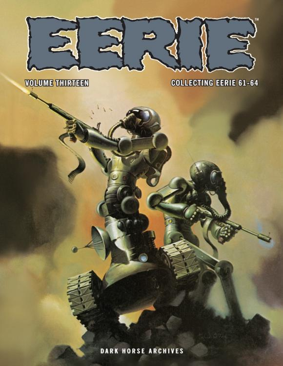 Eerie Archives Volume 13 the ec archives two fisted tales volume 3