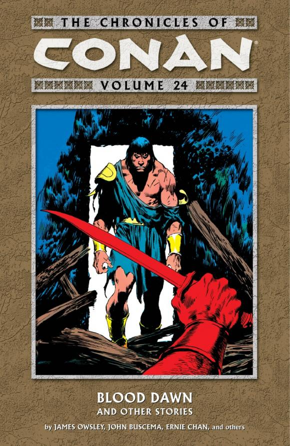 Chronicles of Conan Volume 24: Blood Dawn and Other Stories sherlock chronicles