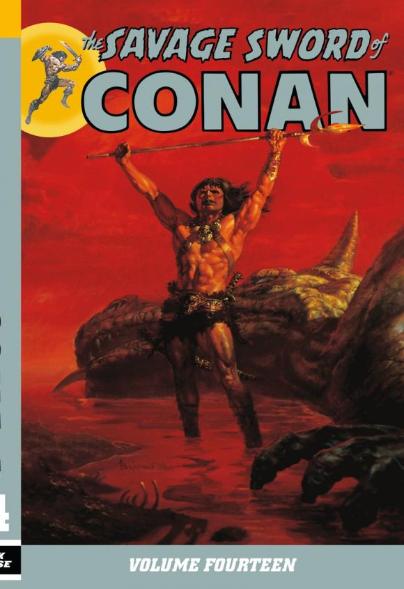 Savage Sword of Conan Volume 14 все цены