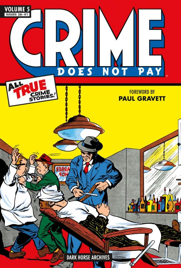 Crime Does Not Pay Archives Volume 5 nexus archives volume 10