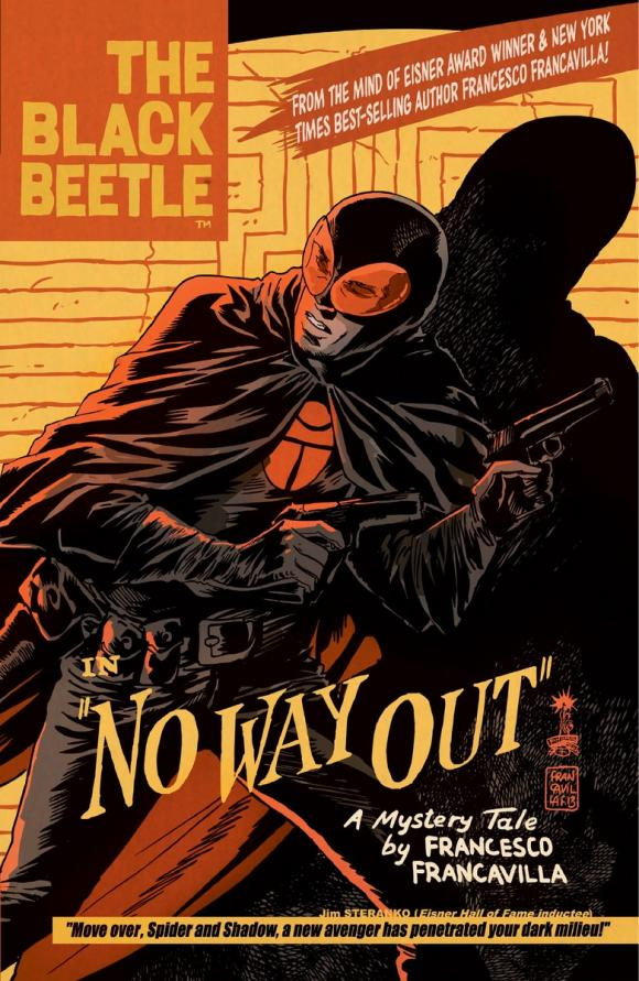 The Black Beetle Volume 1: No Way Out no 6 volume 1