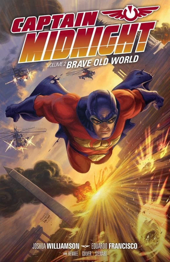 halo volume 2 escalation Captain Midnight Volume 2: Brave Old World