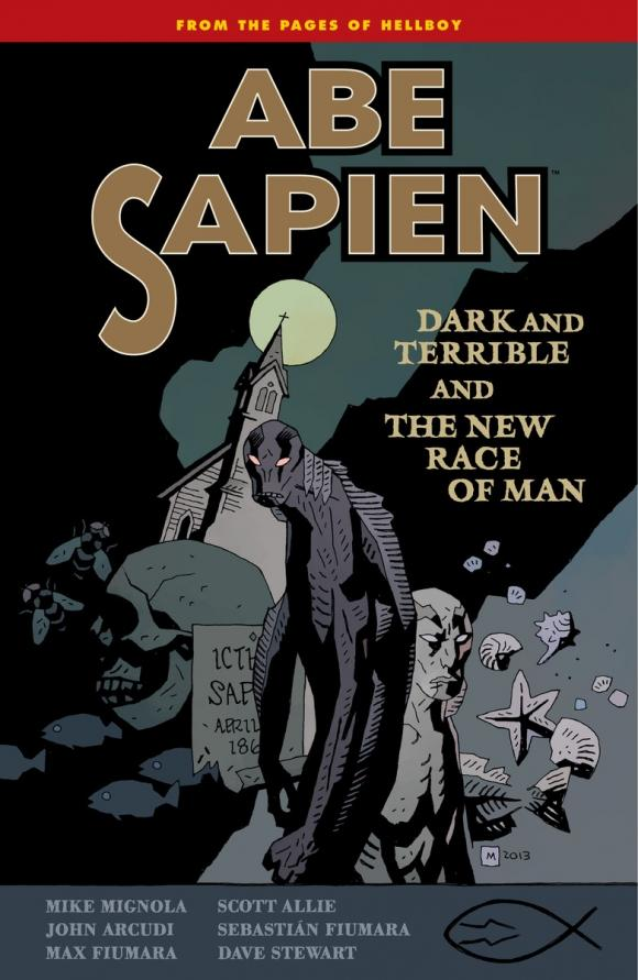 Abe Sapien Volume 3: Dark and Terrible and the New Race of Man knights of sidonia volume 6