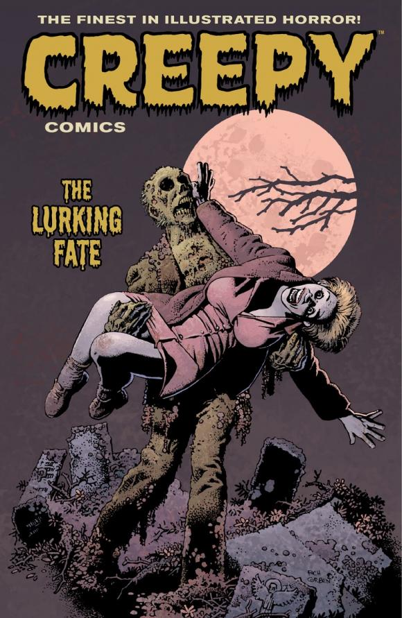 Creepy Comics Volume 3: The Lurking Fate comics journal library volume 10 the