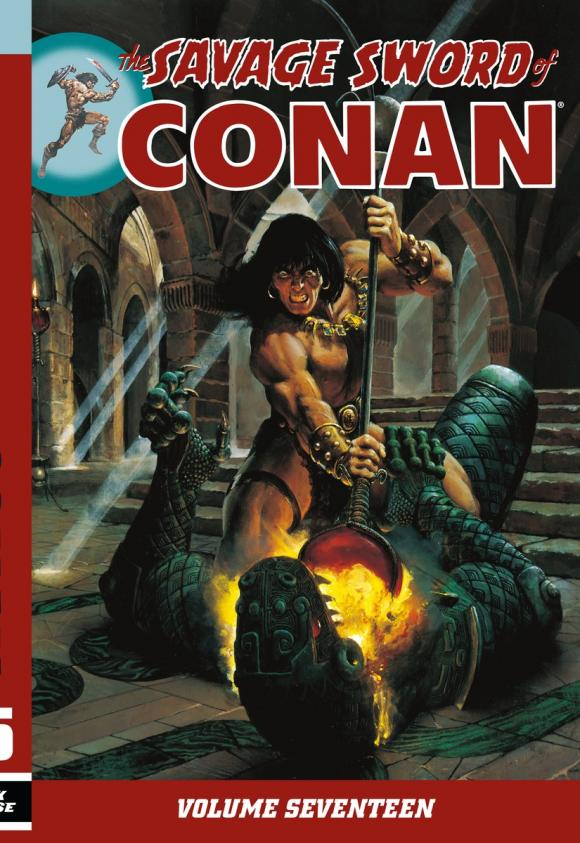 Savage Sword of Conan Volume 17 conan omnibus volume 1 birth of the legend