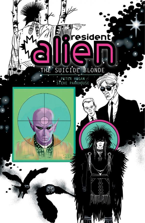 Resident Alien Volume 2: The Suicide Blonde janet wolff resident alien