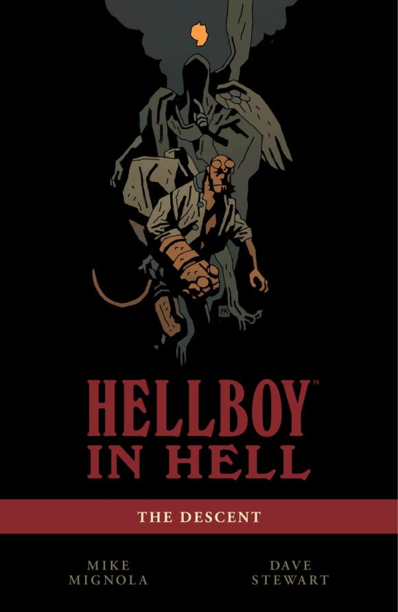 Hellboy in Hell Volume 1: The Descent hellboy the art of hellboy