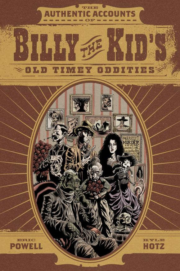Billy the Kid's Old Timey Oddities Omnibus quilted heart omnibus the