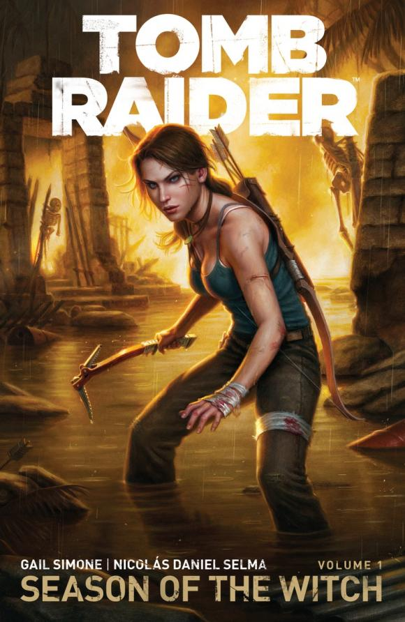 Tomb Raider Volume 1 : Season of the Witch игра для xbox microsoft rise of the tomb raider