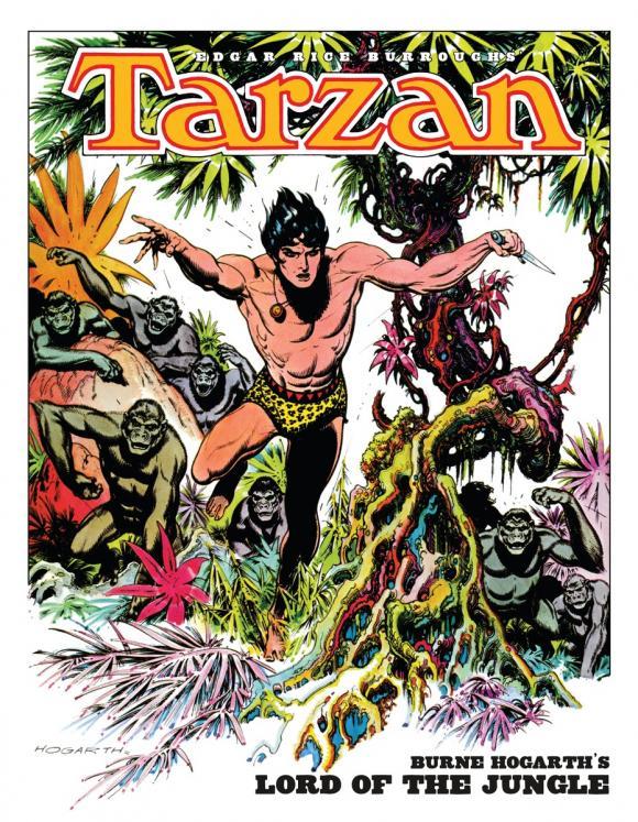 Tarzan: Burne Hogarth's Lord of the Jungle lord of light