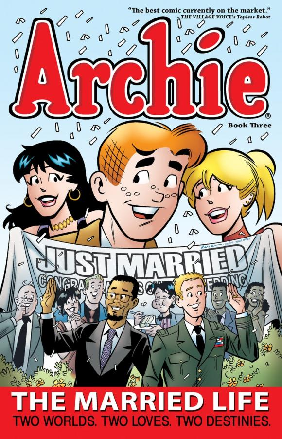 Archie: The Married Life Book 3 archie giant comics 75th anniversary book
