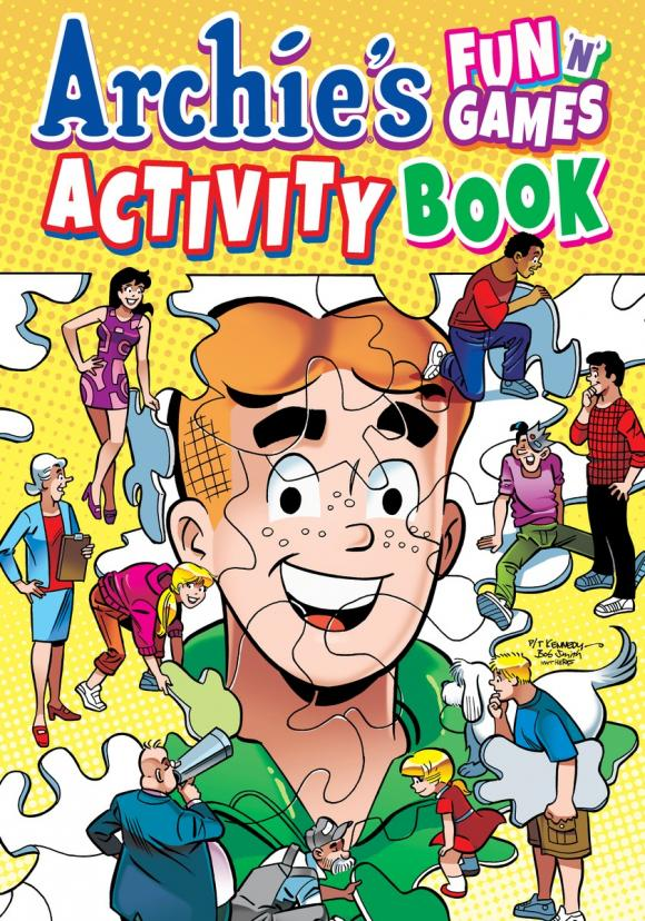 Archie's Fun 'n' Games Activity Book mastering arabic 1 activity book