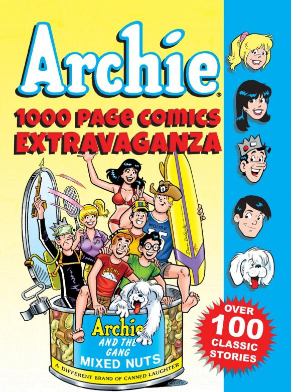 Archie 1000 Page Comics Extravaganza комплект роликов archie профиль 2м