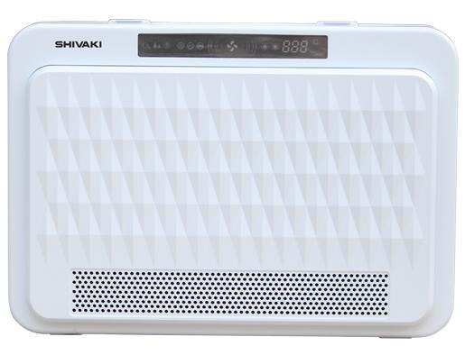 Shivaki SHAP-3010W очиститель воздухаSHAP-3010WОчиститель воздуха SHIVAKI SHAP-3010W необходим для восстановления воздушной среды в помещении. Чистый воздух является основой здоровья и жизни, поэтому данный прибор предотвращает размножение вирусов в воздухе, катехин и ультрафиолетовое излучение уничтожают бактерии и снижают токсическое действие вирусов. В очистителе воздуха установлен фильтр HEPA, который поглощает пыльцу, дым и некоторые воздушные частицы, являющиеся причиной аллергии, респираторных заболеваний и астмы. Фотокатализатор высокоэффективно очищает воздух от вредных и токсичных газов, а также убивает вирусы. Ультрафиолетовая лампа помогает уничтожить до 97,6% бактерий. Функция ионизации: отрицательные ионы в медицинской сфере считаются «витаминами воздуха», они улучшают иммунитет, если человек находится в среде с высоким содержанием отрицательных ионов. Цифровой дисплей с температурой работает от встроенного сенсорного датчика температуры, управление прибором происходит при помощи сенсорного монитора. Прибор возможно монтировать на стену. Очиститель воздуха SHIVAKI SHAP-3010W с высокой эффективностью очистки воздуха, современными технологиями и элегантным дизайном станет украшением любого интерьера