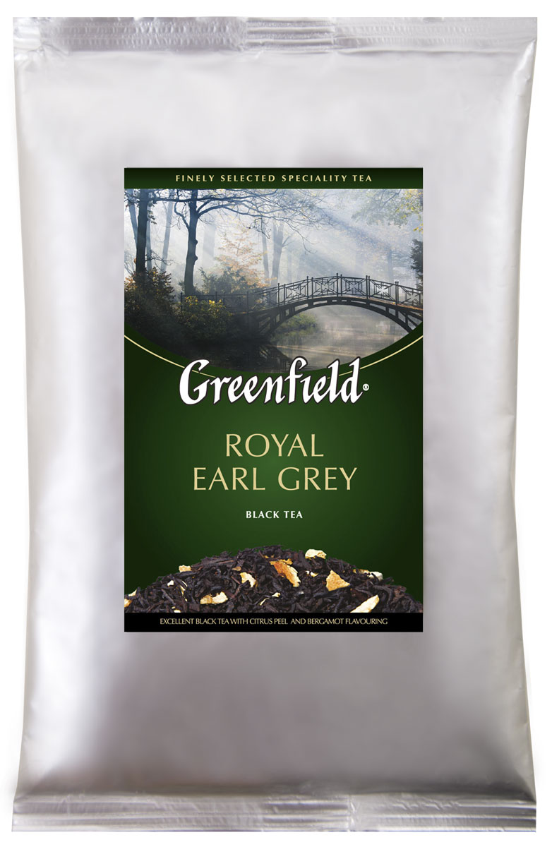 Greenfield Royal Earl Grey черный листовой чай, 250 г hoco m32 brown