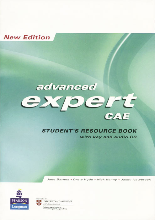 Advanced Expert CAE: New Edition: Student's Resource Book with Key (+ CD) hewings martin thaine craig cambridge academic english advanced students book