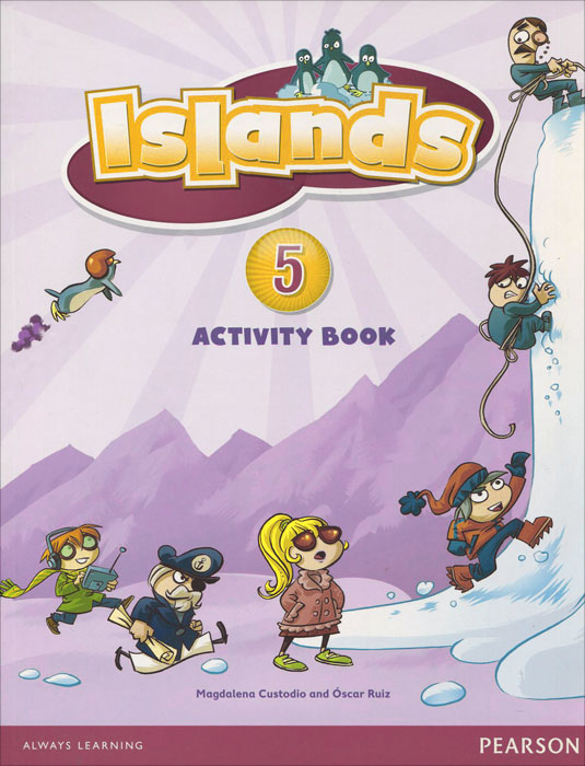 Islands: Level 5: Activity Book christmas colouring and activity book